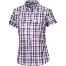 Haglöfs Kili Short Sleeve - woman - breeze/carnelia