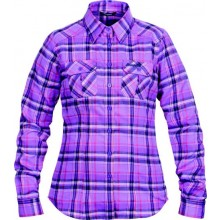 Bergans Bjorli Lady Shirt amethyst-hot red check