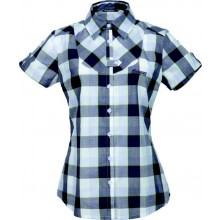 Bergans Dalen Lady Shirt Short Sleeve light lilac check