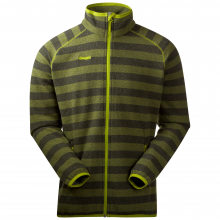 Bergans Symre Jacket - dark olive-lime striped