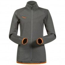 Bergans Middagstind Lady Jacket solid dark grey-pumpkin