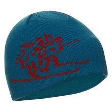 Bergans Birkebeiner Hat  light seablue-red