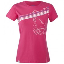 Bergans Explorer Lady Tee hot pink