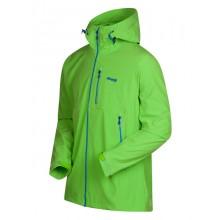 Bergans Stegaros Softshell Jacke timothy green/bright cobalt/ink blue