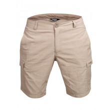 Bergans Utne Shorts greyish light brown-white checked