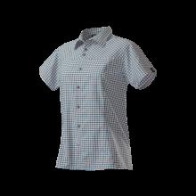 Haglöfs Neo Q Short Sleeve Shirt teal blue-sunset