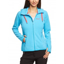 Bergans Sandoya Lady Jacket - bright sea blue-hot red