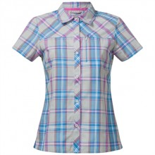 Bergans Marstein Lady Shirt short sleeve - alu-pink rose-light winter sky